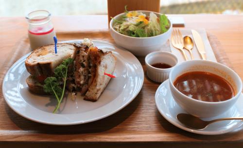 阿久根産アジフライのライ麦パンサンドセット【10食限定】