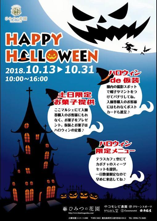 ハロウィンイベント&秋の体験プログラム開始!