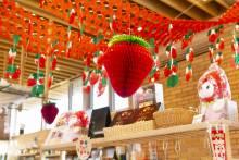 ここマルシェ苺商品いろいろ「いちごフェア」開催中!