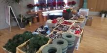 12/1(日)クリスマス寄せ植え教室、実施しました♪