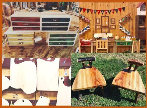 木のアトリエ「 le bois 」さんGW展示販売!
