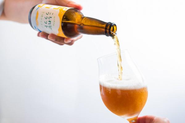 「こもれびクラフト」新発売♪(農園レモン使用のクラフトビールです)